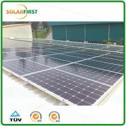 주석 지붕 태양 전지판 설치 구조