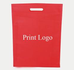 سعر الجملة المطبوعة Die Cut حقيبة غير منسوجة ل التسوق