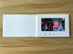 習慣2.4/4.3/5/7/10inchの印刷のないブランクビデオパンフレットの白書のカード