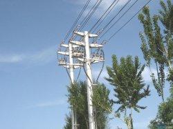 Personalizar la transmisión de electricidad de hierro de la torre de acero de la torre de transmisión de potencia