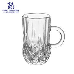 Mini tazza di tè di vetro irlandese libera con la maniglia (GB096203ZS)