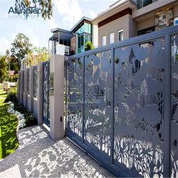 Clôture de jardin en métal de gros en usine pour une utilisation extérieure
