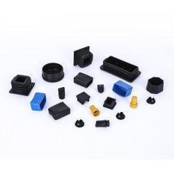 Plastikformteil-Profil-Enden-Stecker, quadratische Rohrleitung leitet Schutzkappen, Plastikendstöpsel für Stahlgefäß