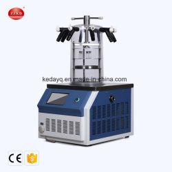 El uso de laboratorio Mini máquina de la liofilización