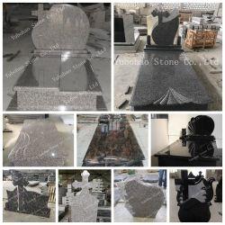 G664/Misty Brown Polen/Rumänien-Art-Granit-Stein-Finanzanzeige/Denkmal/Grundstein mit Kreuz