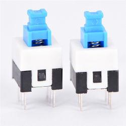7*7мм печатной плате 6 контакта нажмите на ощупь миниатюрного выключателя питания на включение и выключение блокировки