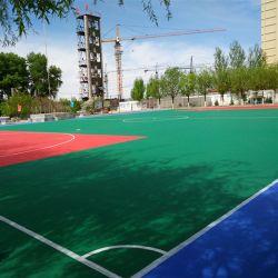 フットボールの床のゴム製Futsalの柔らかい床のゴム製Futsalピッチの床