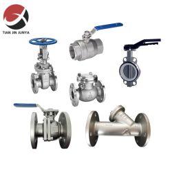 Válvula de control de SUS304 la fundición de acero inoxidable apagar el Control de parada de agua de la válvula de globo válvula brida para que el vapor de agua del sistema de fuelle