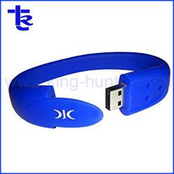 Pulseira de borracha Unidade Flash USB Unidade de memória USB