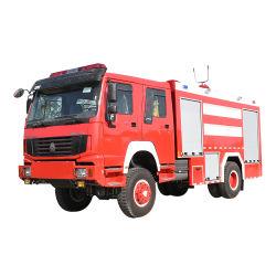 La lucha contra incendios HOWO camiones de bomberos de rescate de combate