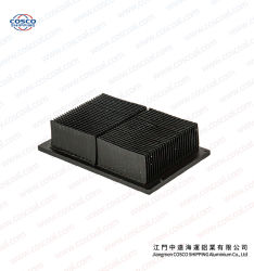 Disipador térmico de aluminio electrolítico por certificado ISO9001