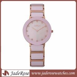 Lindo Reloj Dama de cerámica, cristal de zafiro reloj Color puro Venta caliente