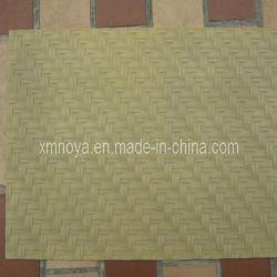 De bonne qualité bambou simulé le tapis de plastique pour la décoration