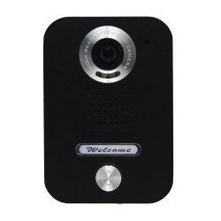 Placa preta Video Doorphone para Villa