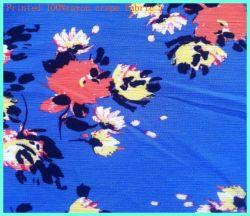 Imprime Crepe Tela Tela de rayón viscosa de la mujer vestidos de verano