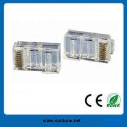 CAT6/Cat5e UTP RJ45 Conector modular Leomp-UC5E-303