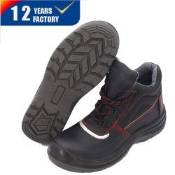 Стильный кожаный чехол промышленности работу обувь Обувь Ly-2725