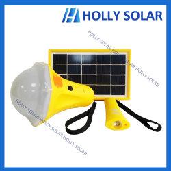 Carregamento USB portátil recarregável Solar Luz LED Lanterna de Lâmpada Lâmpada