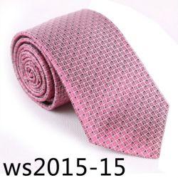 ربطة عنق مخصصة من الحرير/البوليستر بنسبة 100% (Ws2015-15)