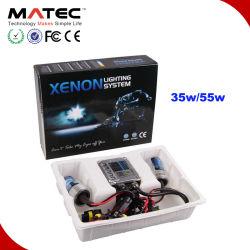 La mise à niveau Universal Silm Ballast Kit Xenon HID 55W 3000K/4300K/5000K/6000K/8000K/10000k/12000k