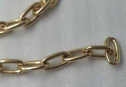 De ovale die Ketting van de Zak van Ijzer of Messing voor Handtas, Kleren, Riem wordt gemaakt