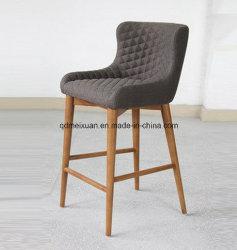 北欧人は引き締めた純木棒椅子、錬鉄棒椅子のミルクの茶店、古代方法(M-X3332)を復元する喫茶店の余暇の高いフィートの椅子を