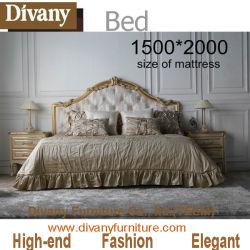 Bed europeo classico per la camera da letto Furniture (BA-1401)
