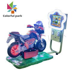 Bunter Park-kleine Serien-Säulengang-Spiel-Maschine Coin+Operated+Games