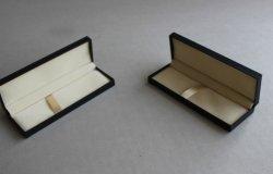 Casella di plastica nera personalizzata della penna del documento speciale, casella di Fift della penna per la promozione del regalo