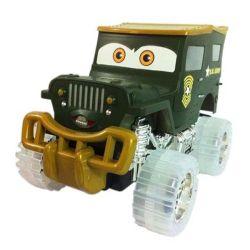 Juguetes eléctricos de fricción de dibujos animados de plástico de coches con música y la Luz (10213429)