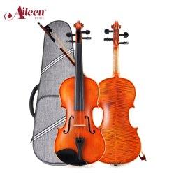 Hoogwaardige 4/4-Size Ebony-pennen Handmade Advanced-outfit Violin (AVL235)