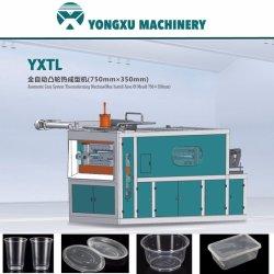 機械を作るに機械、カム構造のThermoforming機械、プラスチックコップまたはボールまたはボックスまたは容器または皿するYxtl 750mm*350mmのプラスチックコップ