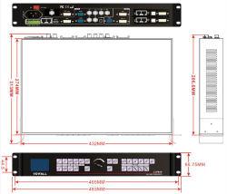 Affichage LED de haute qualité professionnelle processeur vidéo lvp605 pour leur partie de la phase d'écrans LED