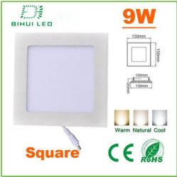 高品質Square 9wled Panel Light Fixture、LED Chips、150*20mm Super Slim DIY LED Light PanelのSMD2835 45PCS