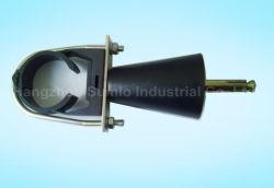 Schelle (Klicken-auf Aufhängungen) für ausgestrahltes Leck-Kabel
