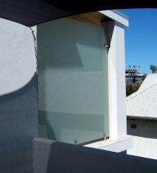Безопасности делителя стеклянная стена из нержавеющей стали и стекла перегородки на балкон/стекло поручень