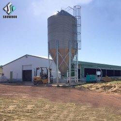 강철 구조물 자동 기후 통제 가금 농장