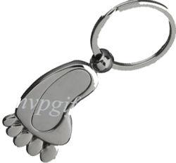 La Chine Custom Métal 3D ARGENT CADEAU Bague de chaîne de clé vierge
