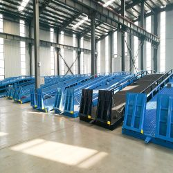 Gare de triage mobile pour le camion de la rampe de chargement et déchargement niveleur de quai de la rampe de chargement du conteneur Bridge