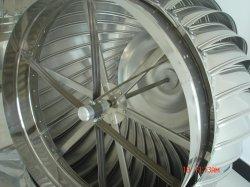 Acero inoxidable de 900 mm en la azotea Wind-Driven Industrial Ventilador de aire de la Turbina de ventilación/