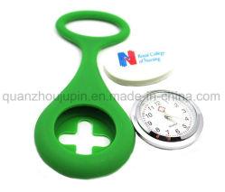 OEM-красочных силиконового герметика кварцевые часы с медсестры Brooch контакт