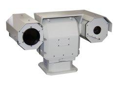 La sécurité publique utilisé caméra à imagerie thermique avec caméra vidéo