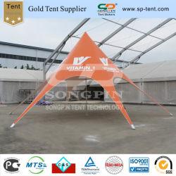 10m de la publicité Orange Star tente avec impression personnalisée