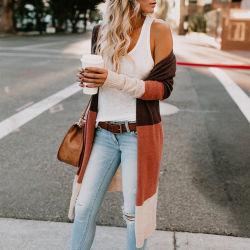 Mesdames fashion Cardigan pullover en tricot automne/hiver manteau pour le commerce de gros