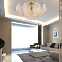 Потолочное освещение канделябра кристаллический стекла проекта гостиницы типа Европ конструкции для спальни