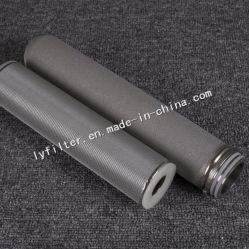 خرطوشة فلتر عصا التيتانيوم 10 بوصات لتصفية الماء القلوية أو الأحماض القوية