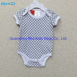 Il bambino caldo di vendita di Onesie del bambino di stampa dell'acqua copre l'indumento unisex dei capretti