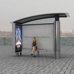 Im Freien spezieller kundenspezifischer einfacher Glasbus-Schutz