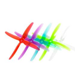 El huracán 51455 5 pulgadas de 4 hojas de control fácil de velocidad de la gran atracción de la pala más rápido del equipo de Mini RC de aviones de hélice la práctica de carreras de aviones teledirigidos de hélice