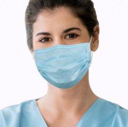 Fornitore piano della maschera di protezione della maschera di protezione di protezione della maschera di protezione della maschera di protezione della maschera della polvere della mascherina facciale non tessuta a gettare protettiva del muschio
